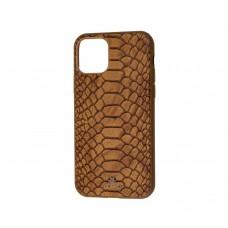 Чехол Vorson Snake коричневый на iPhone 11 Pro