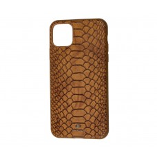 Чехол Vorson Snake коричневый на iPhone 11 Pro max