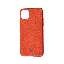 Чехол Vorson Snake красный на iPhone 11 Pro max