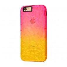 """Силиконовый чехол для iPhone 7/8 Gradient Gelin Case """"Розово-желтый""""."""