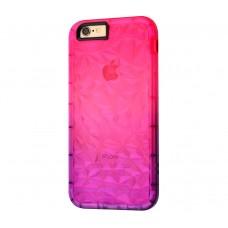 """Силиконовый чехол для iPhone 7/8 Gradient Gelin Case """"Розово-сиреневый""""."""