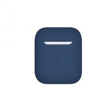 Тонкий силиконовый чехол для AirPods Cobalt Blue
