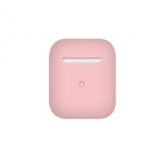 Тонкий силиконовый чехол для AirPods Light Pink