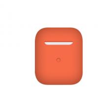 Тонкий силиконовый чехол для AirPods Spicy Orange
