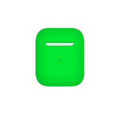 Тонкий силиконовый чехол для AirPods Uran Green