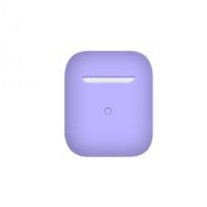 Тонкий силиконовый чехол для AirPods Violet