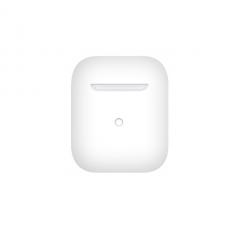 Тонкий силиконовый чехол для AirPods White