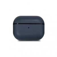 Кожаный чехол Leather Case Midnight Blue для AirPods Pro