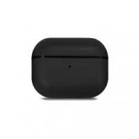 Кожаный чехол Leather Case Black для AirPods Pro