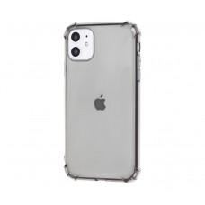 Чехол WXD Ударопрочный прозрачный для iPhone 11 Черный