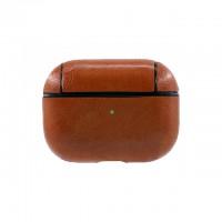 Кожаный чехол для AirPods Pro Protection Leather Case Красный