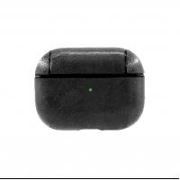 Кожаный чехол для AirPods Pro Protection Leather Case Черный