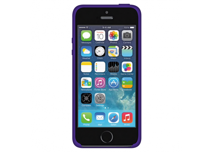 Силиконовый чехол Apple Silicone Case Ultra Violet для iPhone 5/5s/SE (Реплика)