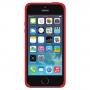 Силиконовый чехол Apple Silicone Case Red для iPhone 5/5s/SE