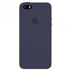 Силиконовый чехол Apple Silicone Case Midnight Blue для iPhone 5/5s/SE