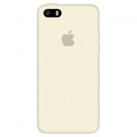 Силиконовый чехол Apple Silicone Case Antique White для iPhone 5/5s/SE