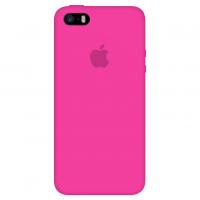 Силиконовый чехол Apple Silicone Case Barbie Pink для iPhone 5/5s/SE