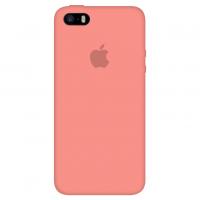 Силиконовый чехол Apple Silicone Case Begonia Red для iPhone 5/5s/SE