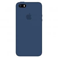 Силиконовый чехол Apple Silicone Case Cobalt Blue для iPhone 5/5s/SE