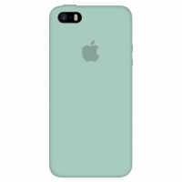 Силиконовый чехол Apple Silicone Case Mint для iPhone 5/5s/SE