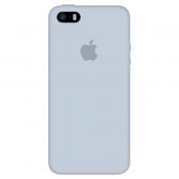 Силиконовый чехол Apple Silicone Case Mist Blue для iPhone 5/5s/SE