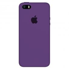Силиконовый чехол Apple Silicone Case Purple для iPhone 5/5s/SE