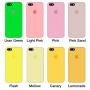 Силиконовый чехол Apple Silicone Case White для iPhone 5/5s/SE (Реплика)