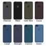 Силиконовый чехол Apple Silicone Case Midnight Blue для iPhone 5/5s/SE