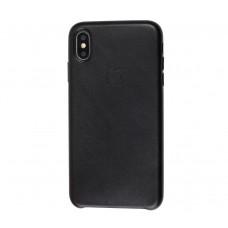 "Чехол Leather Classic ""Black"" для iPhone X/Xs"