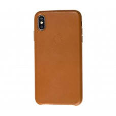 "Чехол Leather Classic ""Brown"" для iPhone X/Xs"