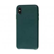 "Чехол Leather Classic ""Forest Green"" для iPhone X/Xs"