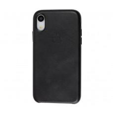 "Чехол Leather Classic ""Black"" для iPhone Xr"