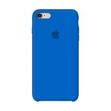 Силиконовый чехол Apple Silicone Royal Blue для iPhone 6/6s (копия)
