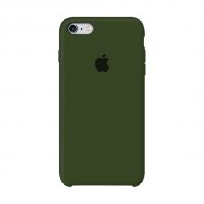 Силиконовый чехол Apple Silicone Case Virid (Темно-зеленый) для iPhone 6/6s