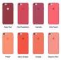 Силиконовый чехол Apple Silicone Case Pink для iPhone 6/6s (копия)