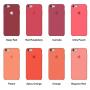 Силиконовый чехол Apple Silicone Case Pink Sand для iPhone 6 (копия)