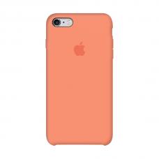 Силиконовый чехол Apple Silicone case Peach для iPhone 6/6s (копия)