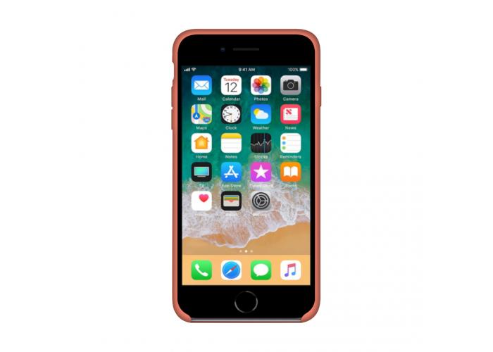 Силиконовый чехол Apple Silicone Case Orange для iPhone 6/6s (копия)