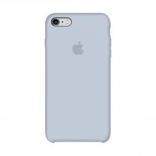 Силиконовый чехол Apple Silicone case Mist Blue для iPhone 6  /6s (копия)
