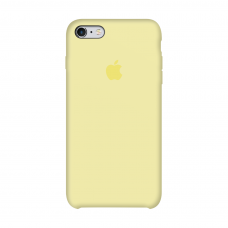 Силиконовый чехол Apple Silicone Case Mellow Yellow для iPhone 6/6s
