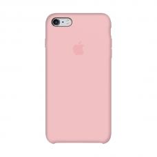 Силиконовый чехол Apple Silicone Case Light Pink для iPhone 6 (копия)