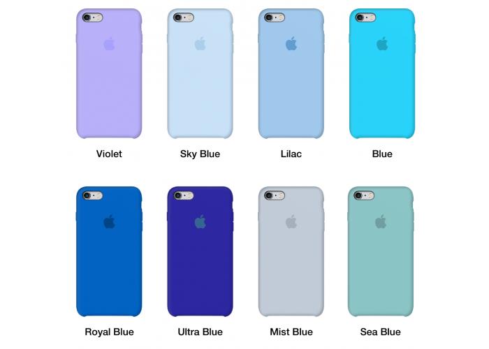 Силиконовый чехол Apple Silicone Case Lavander для iPhone 6/6s (копия)