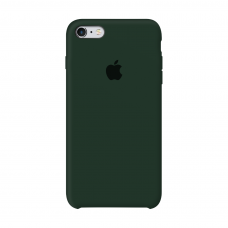 Силиконовый чехол Apple Silicone Case Forest Green для iPhone 6/6s