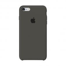 Силиконовый чехол Apple Silicone case Dark Olive для iPhone 6 /6s (копия)