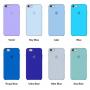 Силиконовый чехол Apple Silicone Case Charcoal Gray для iPhone 6/6s (копия)