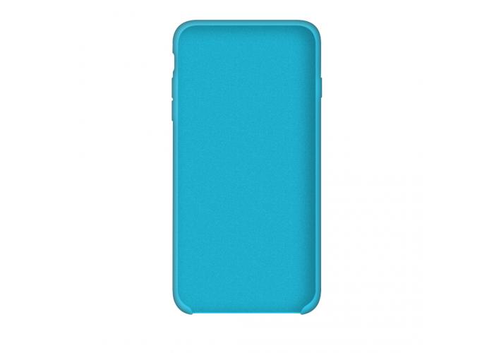 Силиконовый чехол Apple Silicone Case Blue для iPhone 6/6s (копия)