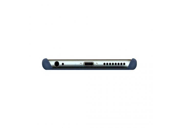 Силиконовый чехол Apple Silicone Case Blue Cobalt для iPhone 6 (копия)