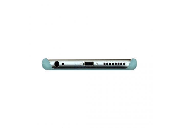 Силиконовый чехол Apple Silicon Case Sea Blue (бирюзовый) для iPhone 6/6s (копия)
