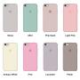 Силиконовый чехол Apple Silicon Case Antique White для iPhone 6/6s (копия)