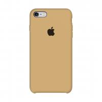Apple Silicone Case Mustard Beige (Горчично-бежевый) 6/6s